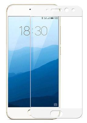 Защитное стекло Gio для Meizu Pro 7 (Белый) 2.5D Full Cover