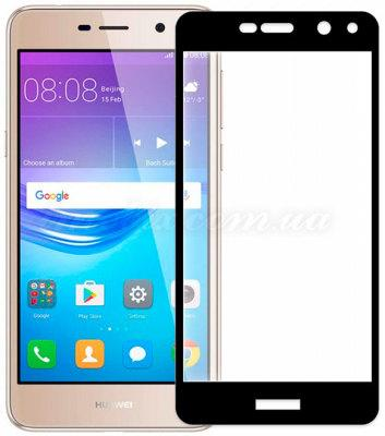 Защитное стекло Gio Huawei Y5 2017 2.5D full cover black