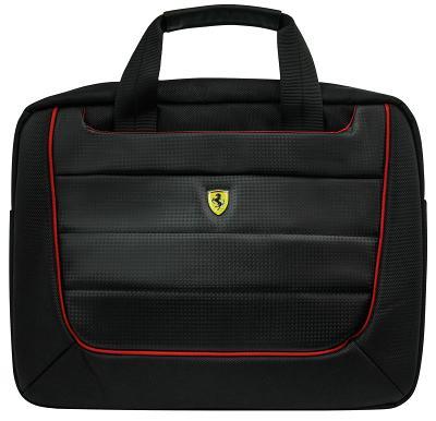 """Чехол-сумка для ноутбука FERRARI 13"""" (Черный) FECB13BK"""