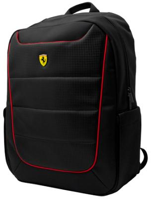 Рюкзак Ferrari Scuderia Backpack Simplified Black and Red Piping 15""