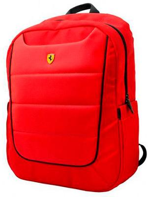 Рюкзак Ferrari Scuderia Backpack Simplified Red and Black Piping 15""