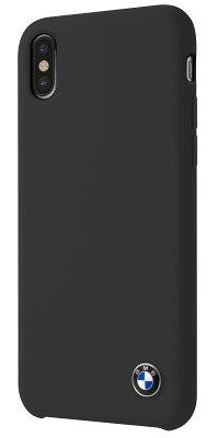 Чехол-накладка BMW Silicone Hard Case (Black) для iPhone X