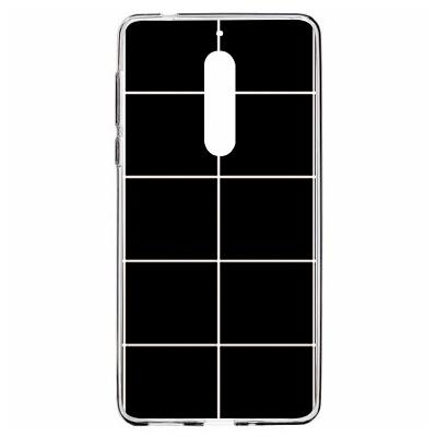 Чехол-накладка Wise (Черно-белая сетка) для Nokia 5