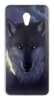 Чехол-накладка Wise (Волк) для Meizu M5 Note