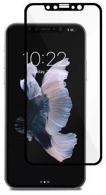 Защитное стекло Moshi iPhone X IonGlas Black