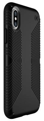 Фото Чехлы, Speck Чехол-накладка Speck Presidio (Grip Black/Black) для iPhone X