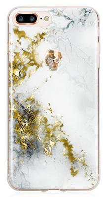 Чехол-накладка Bling My Thing Treasure Alabaster Gold Skull для iPhone 8 Plus/7 Plus