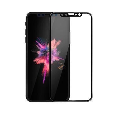 Защитное стекло iLera для iPhone X (Черный) 3D Eclat