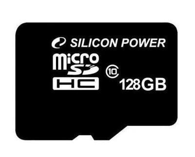 Карта памяти Silicon Power MicroSD 128Gb (Class10)