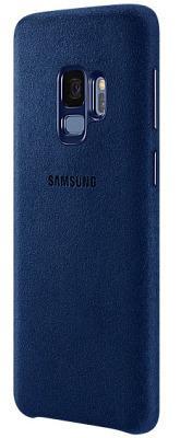 Фото Чехлы, Samsung Чехол Samsung Galaxy S9 (G960) Alcantara Cover Blue (EF-XG960ALEGRU)