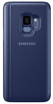 Чехол Samsung Galaxy S9 Plus (G965) Clear View Standing Cover Blue (EF-ZG965CLEGRU)