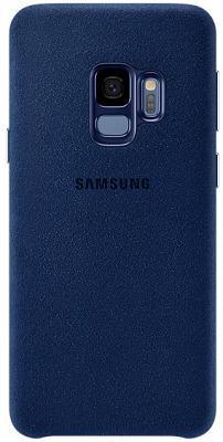 Чехол Samsung Galaxy S9 Plus (G965) Alcantara Cover Blue (EF-XG965ALEGRU)