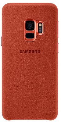 Чехол Samsung Galaxy S9 (G960) Alcantara Cover Red (EF-XG960AREGRU)
