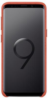 Фото Чехлы, Samsung Чехол Samsung Galaxy S9 (G960) Alcantara Cover Red (EF-XG960AREGRU)