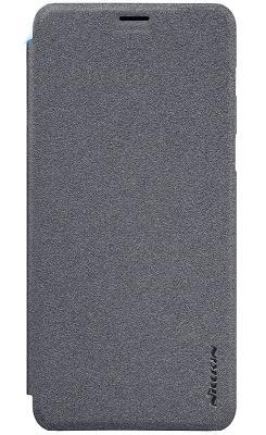 Чехол Nillkin Sparkle leather Samsung Galaxy A730F (Black)