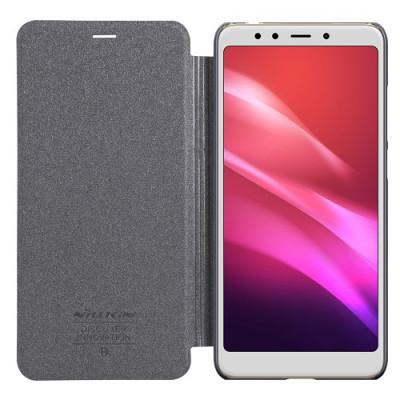 Чехол Nillkin Sparkle leather Xiaomi Redmi 5 Plus (Black)
