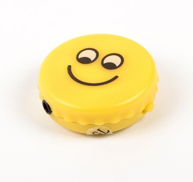 Mp3 плеер Smiley, портативный, желтый