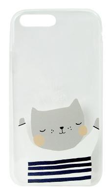 Чехол-накладка ART (Котик) для iPhone 8 Plus/7 Plus