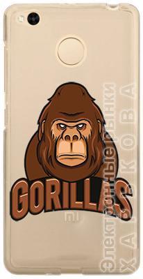 Чехол-накладка Wise (Gorillas) для Xiaomi Redmi 4X - Чехлы для телефонов, mp3 плееров на рынке Барабашова