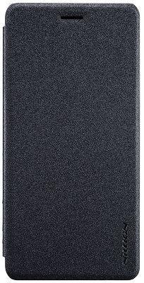 Чехол-накладка Nillkin Sparkle leather MEIZU Pro 7 Plus Black