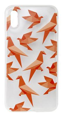Чехол-накладка ART (Оригами) для iPhone X