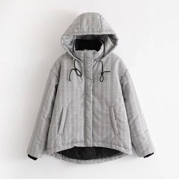 Курточка в клетку
