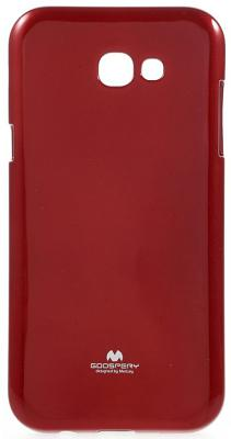 Чехол-накладка Mercury Pearl Jelly для Galaxy A520 (красный)