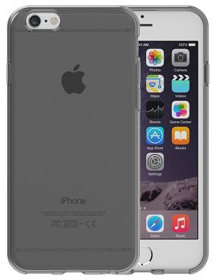 Чехол-накладка E-Power Pro-Case Transparent для iPhone 6/6S (черный)