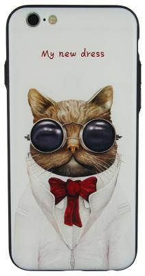 Чехол WK 3D Print Cat In Glass для iPhone 6/6S