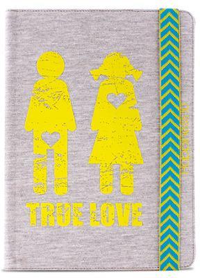 """Чехол Puro Booklet+Cover TRUE LOVE универсальный 10,1"""""""