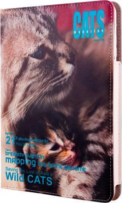 Чехол AviiQ Magazine для iPad mini 1/2/3 Cats