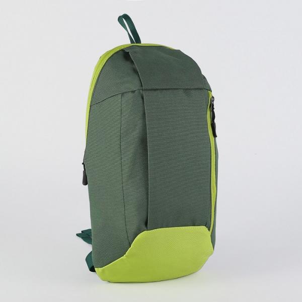 Рюкзак мол Мини, 22*9*40, отдел на молнии, н/карман, зелено/салатовый