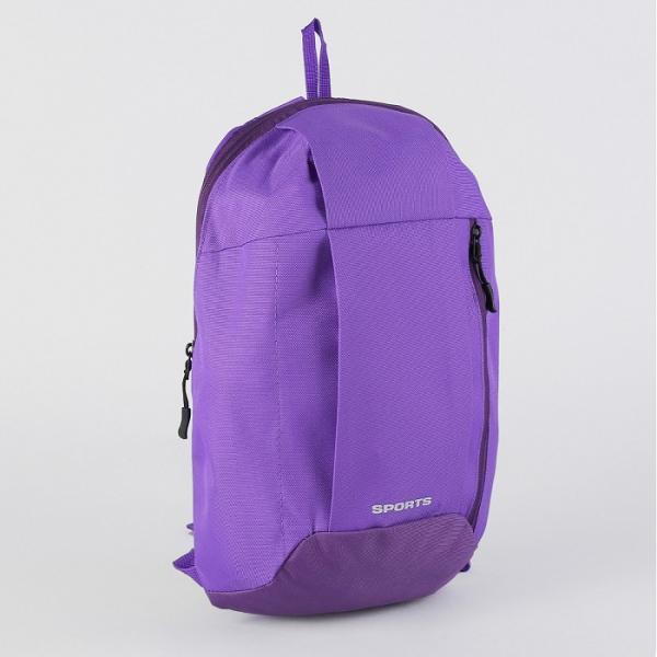 Рюкзак мол Мини, 22*9*40, отдел на молнии, н/карман, фиолетово/розовый