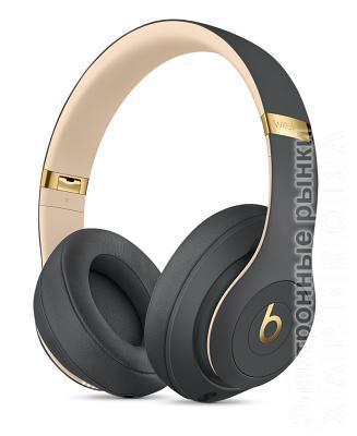 Наушники Beats Studio 3 Wireless Over-Ear Shadow (MQUF2XM/A) Grey - Наушники и гарнитуры на рынке Барабашова