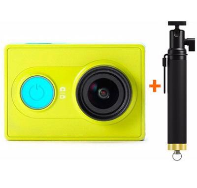 Камера Xiaomi Yi с моноподом (Green)