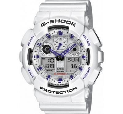 Часы Casio G-Shock GA-100A-7AER