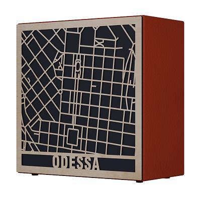 Дизайнерская акустика Vitaliy Pototskiy Music of Your City Odessa (Red)