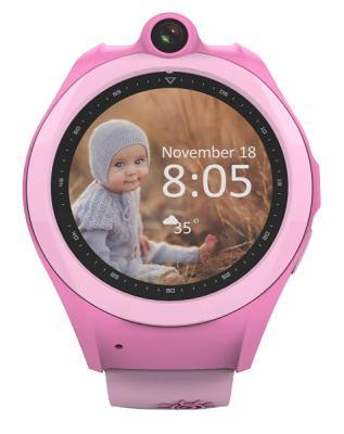 Смарт-часы GOGPS ME К19 Розовые (К19РЗ)
