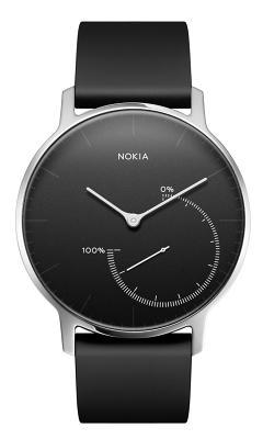 Смарт-часы Nokia Activiti & Steel Black для Apple и Android устройств