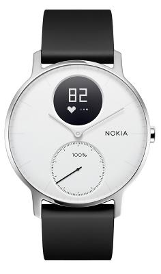 Смарт-часы Nokia Steel HR 36mm White для Apple и Android устройств