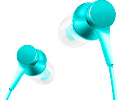 Наушники Xiaomi Mi In-ear headphones Piston fresh (blue)