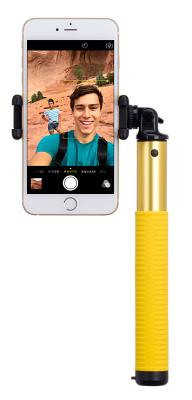 Монопод Momax Selfie Hero L Bluetooth Selfie Pod 100cm (Gold) KMS7L
