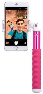 Монопод Momax Selfie Hero L Bluetooth Selfie Pod 100cm (Pink) KMS7P