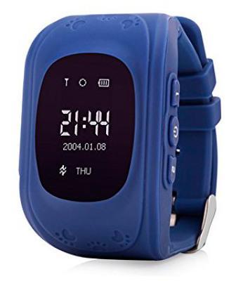 Фото Смарт-часы, E-Cloud Детские смарт-часы с GPS трекером KIDS GO (Dark Blue) SW-009DB