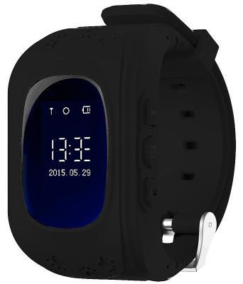 Детские смарт-часы с GPS трекером KIDS GO (Black) SW-009BLK