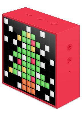 Акустика многофункциональная Divoom TimeBox mini (red)