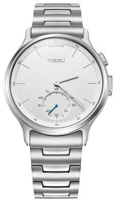 Смарт-часы Meizu Light Smartwatch Silver Steel Band