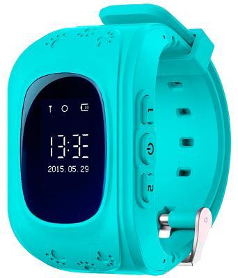 Детские смарт-часы с GPS трекером KIDS GO (Blue) SW-009B