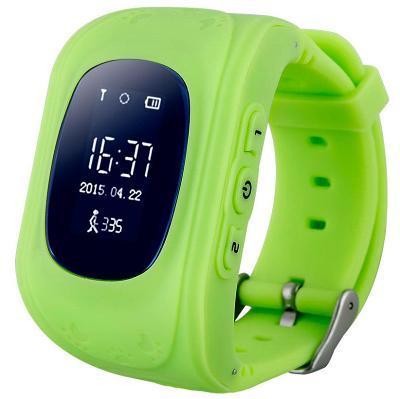 Детские смарт-часы с GPS трекером KIDS GO (Green) SW-009G