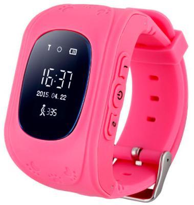 Детские смарт-часы с GPS трекером KIDS GO (Pink) SW-009P